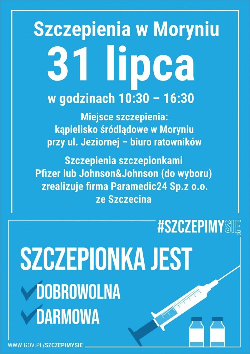 Szczepienia w Moryniu - moryn.pl